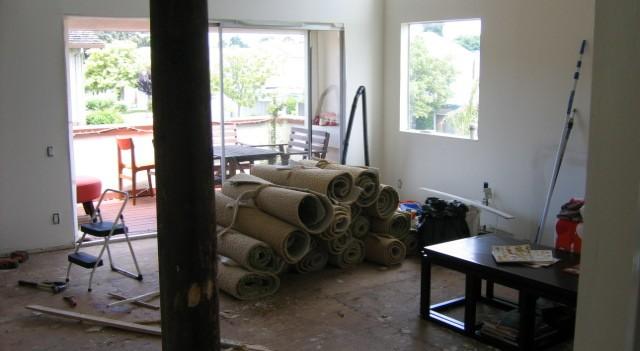Alameda House Remodel (during)