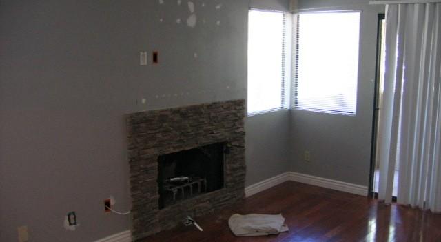 Foreclosure Paint and Floor Repair (before)
