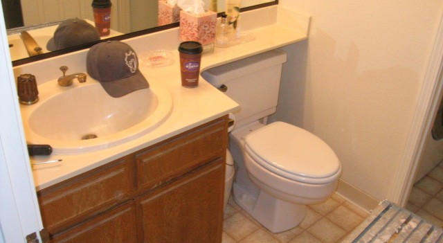 San Ramon Bathroom Remodel (before)